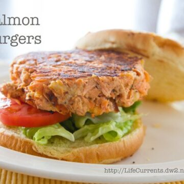 Salmon Burgers or What to Do with Leftover Salmon   Life Currents https://lifecurrentsblog.com